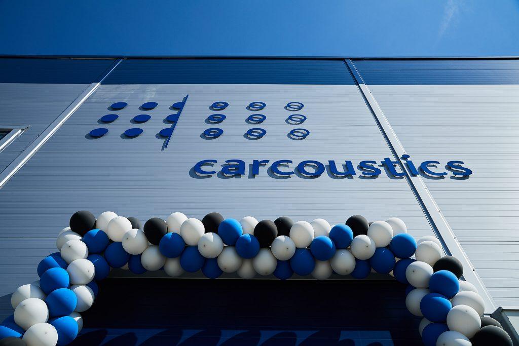 Otwarcie nowego zakładu Carcoustics