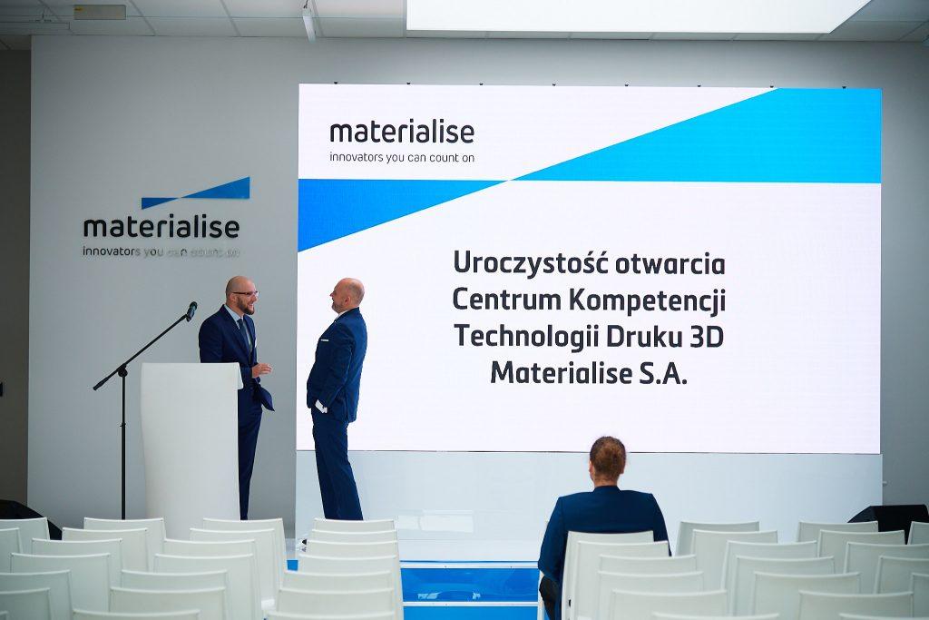 Otwarcie nowej siedziby Materialise